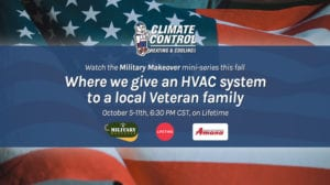 Climate Control Heating and Cooling Giving back to Veterans